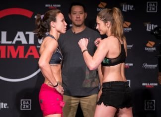 Bellator 224 Juliana Velasquez vs. Kristina Williams