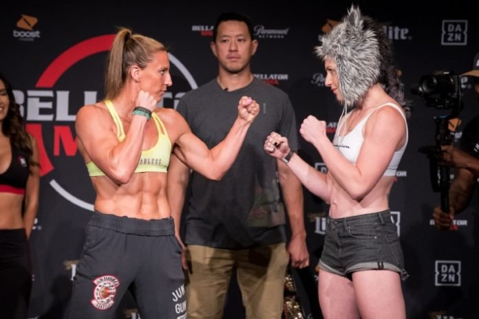 Bellator 224 Julia Budd vs. Olga Rubin