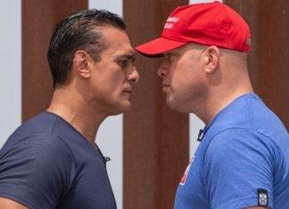 Alberto Del Rio/Dos Caras Jr and Tito Ortiz