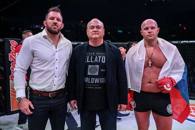 Ryan Bader and Fedor Emelianenko