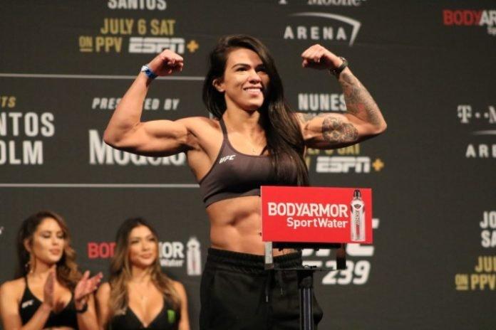 Claudia Gadelha, UFC 239