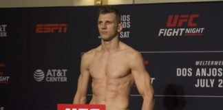 Dan Hooker UFC San Antonio