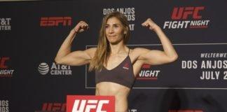 UFC San Antonio Irene Aldana