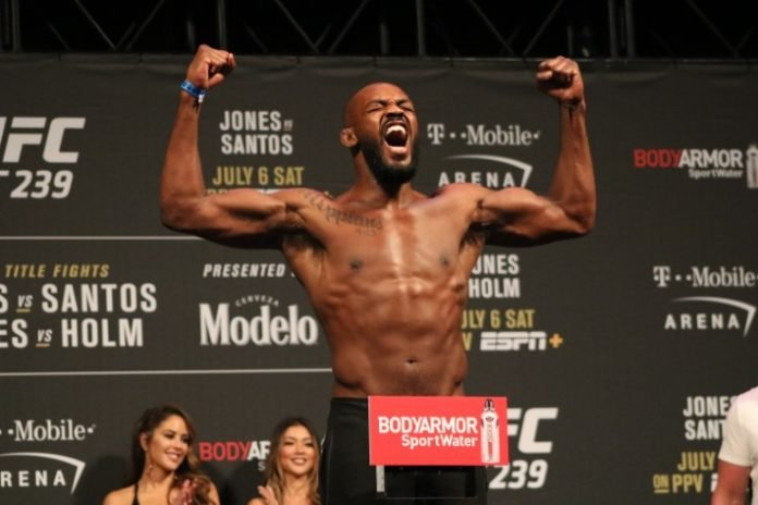 UFC 239 Jon Jones Rankings
