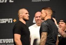 UFC 242 Khabib Nurmagomedov Dustin Poirier