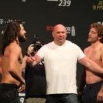 Jorge Masvidal and Ben Askren ahead of UFC 239
