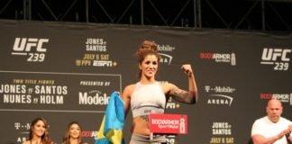 Pannie Kianzad UFC