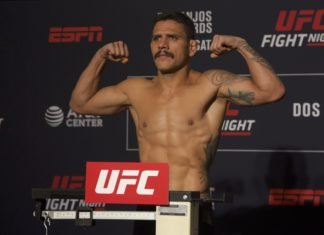 Rafael dos Anjos UFC San Antonio