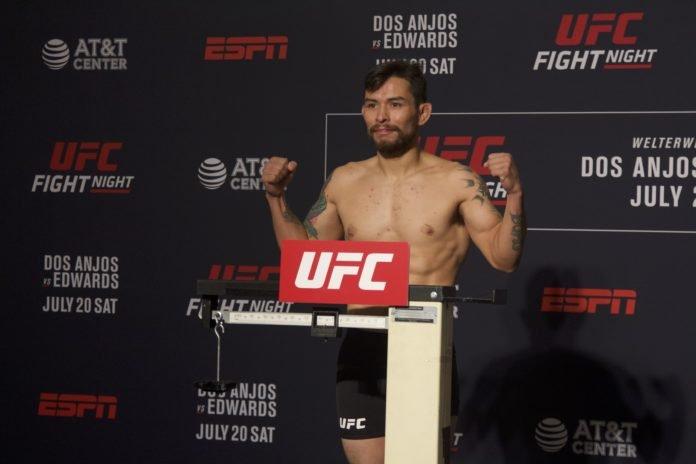Ray Borg UFC San Antonio