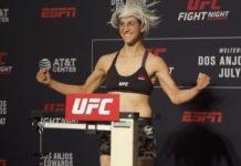 Roxanne Modafferi UFC San Antonio