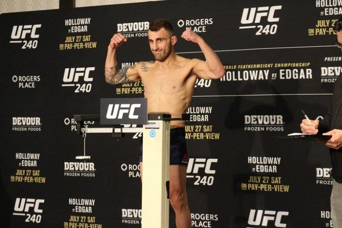 UFC 240 Alexander Volkanovski