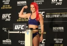 Gillian Robertson, UFC