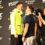 Max Holloway and Frankie Edgar, UFC 240