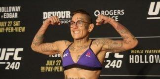 Sarah Frota Lima UFC 240