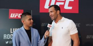 Luke Rockhold UFC 239 media day