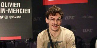 Olivier Aubin-Mercier UFC