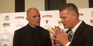 Anthony Smith World MMA Awards 2019