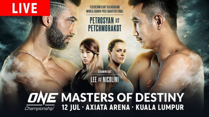 ONE Championship: Masters of Destiny Results and Live Stream