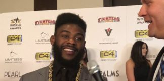 Aljamain Sterling World MMA Awards 2019