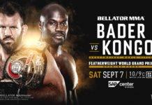 Bellator 226 Ryan Bader vs. Cheick Kongo