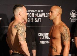 Colby Covington vs Robbie Lawler
