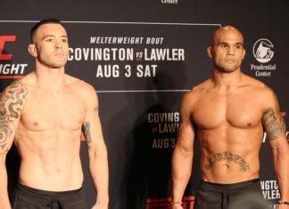 16 UFC Newark Covington vs Lawler