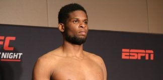 22 UFC Newark Kennedy Nzechukwu