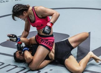 Stamp Fairtex vs Asha Roka ONE Championship