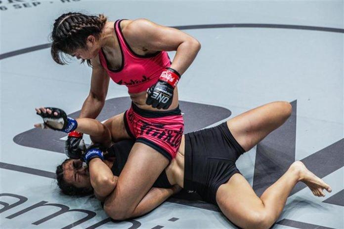 Stamp Fairtex vs Asha Roka ONE Championship