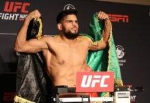 Nasrat Haqparast, UFC