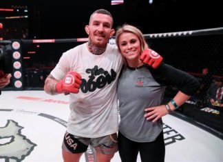 Austin Vanderford and Paige VanZant