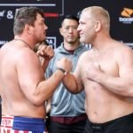 Matt Mitrione and Sergei Kharitonov, Bellator 225 Weigh-In