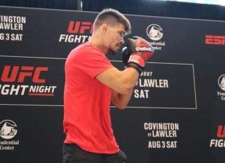 Mickey Gall UFC Newark