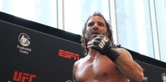 Clay Guida UFC Newark open workout