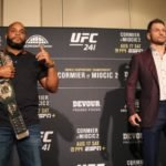 Cormier and Miocic, UFC 241