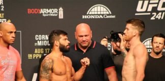 UFC 241 Raphael Assuncao and Cory Sandhagen