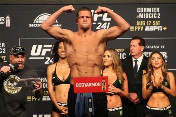 UFC 241 Nate Diaz
