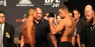 UFC 241 Nate Diaz Anthony Pettis