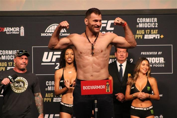 Ufc 252 Miocic Vs Cormier 3 Weigh In Results