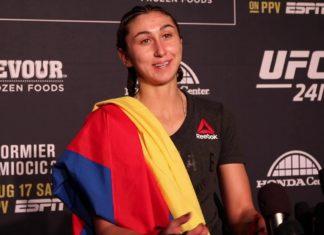 Sabina Mazo UFC 241