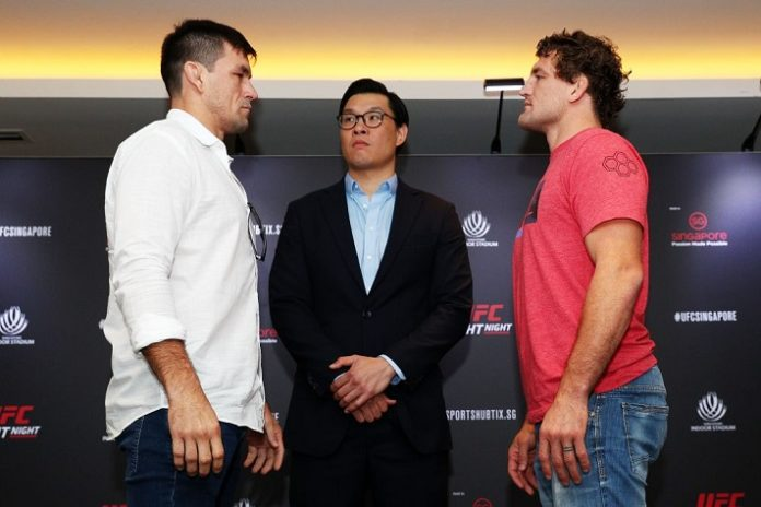 Demian Maia and Ben Askren face off in advance of UFC Singapore