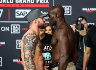 Ryan Bader and Cheick Kongo, Bellator 226