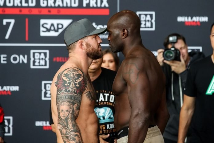 Ryan Bader and Cheick Kongo, Bellator 226
