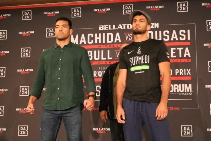 Lyoto Machida and Gegard Mousasi Bellator 228 media day