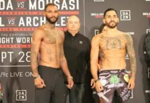Bellator 228's Darrion Caldwell and Henry Corrales