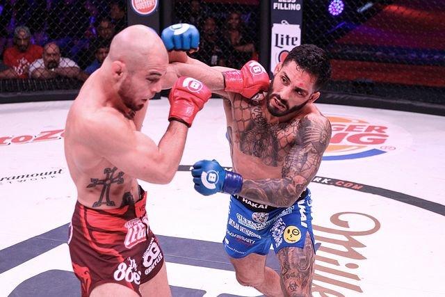 Henry Corrales Bellator MMA