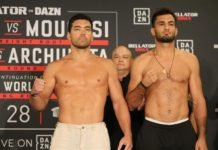 Lyoto Machida and Gegard Mousasi, Bellator 228