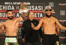 Patricio Pitbull and Juan Archuleta, Bellator 228 weigh-in