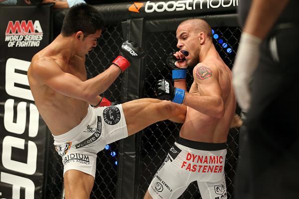 Tyson Nam, WSOF