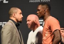 Robert Whittaker and Israel Adesanya, UFC